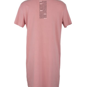 Tee Dress Donna stampa TAG rosa