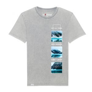 """T.shirt uomo vintage stampa """"wanderers"""" collezione Everyday ss21"""
